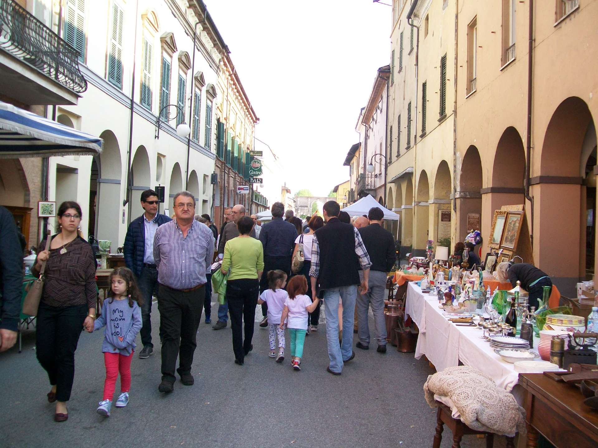 Cherasco mercatino antiquariato - Eventi