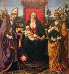 Il Macrino - Madonna con bambino e santi