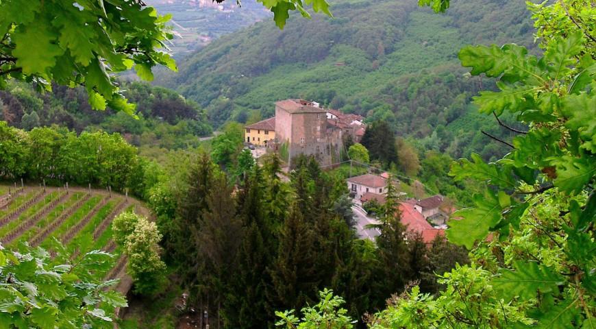 Borgomale e il suo castello