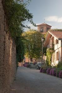 Le vie del centro di Neviglie