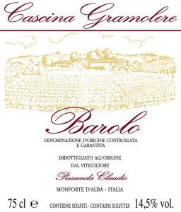 Barolo DOCG 2010 – Cascina Gramolere