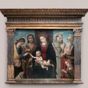 Lo sposalizio mistico di Santa Caterina - Il Macrino