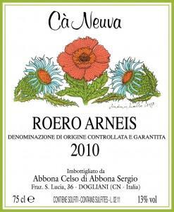 Roero Arneis DOCG 2010 – Cà Neuva