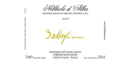 Nebbiolo d'Alba DOC 2012 – Fabrizio Battaglino