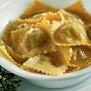 Agnolotti with roast sauce