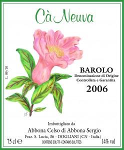 Barolo 2006 DOCG Cà Neuva