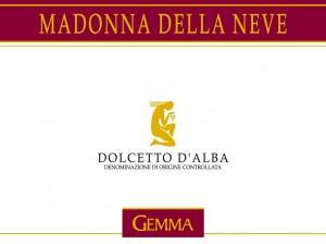 Dolcetto d'Alba 2010 DOC Madonna della Neve Gemma