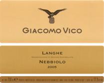 Langhe Nebbiolo DOC 2009 – Giacomo Vico
