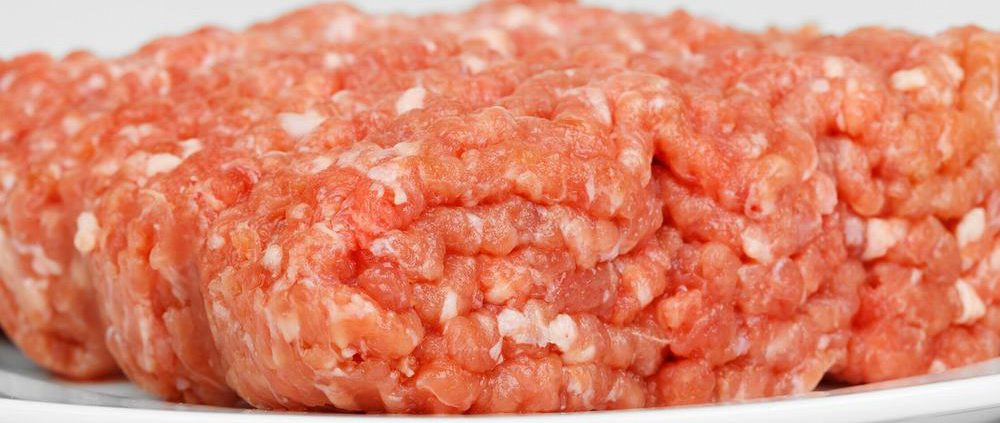 Minced pork meat