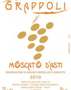 Moscato d'Asti DOCG 2011 – Gabutti Boasso