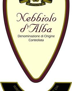 Nebbiolo d'Alba DOC 2009 – Manera