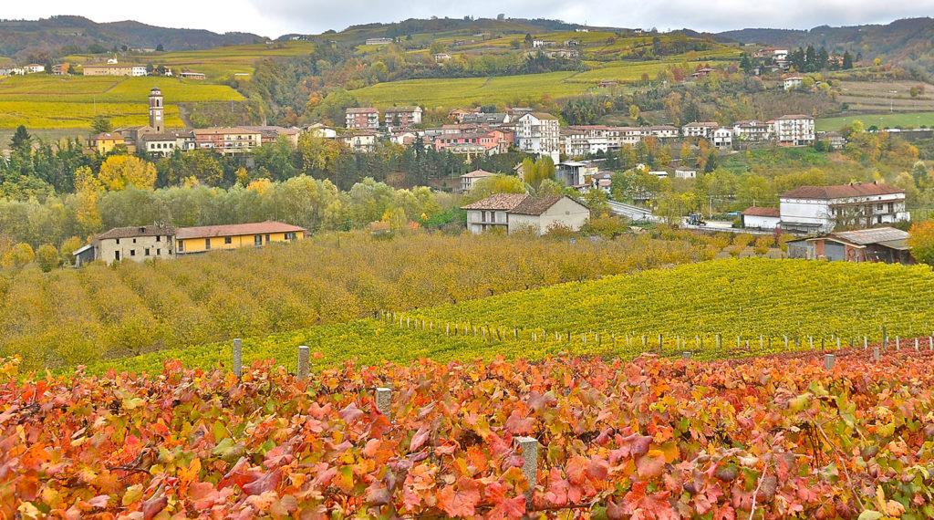 Cossano Belbo panorama