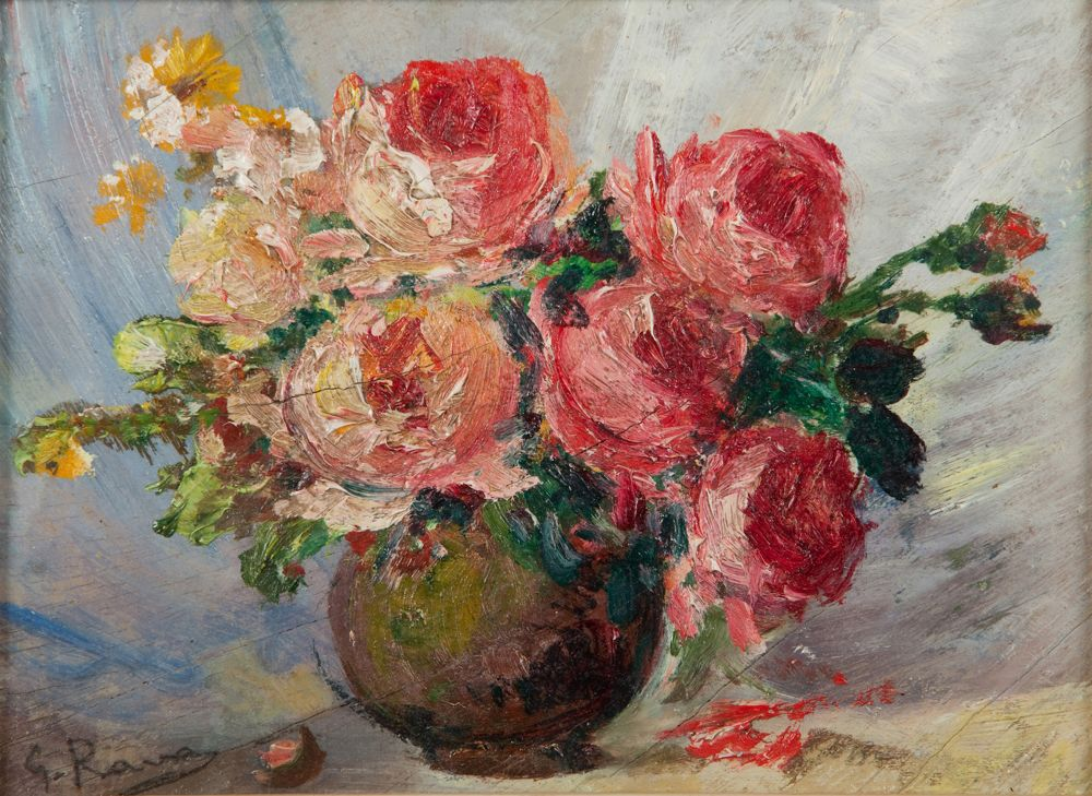 Giovanni rava for Quadri con rose rosse