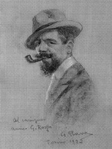 Giovanni Rava - Autoritratto