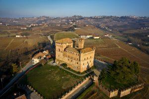 Grinzane Cavour - Aerial view