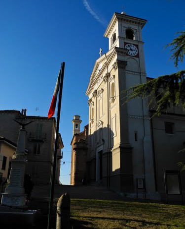 The parish church of San Giovanni Battista