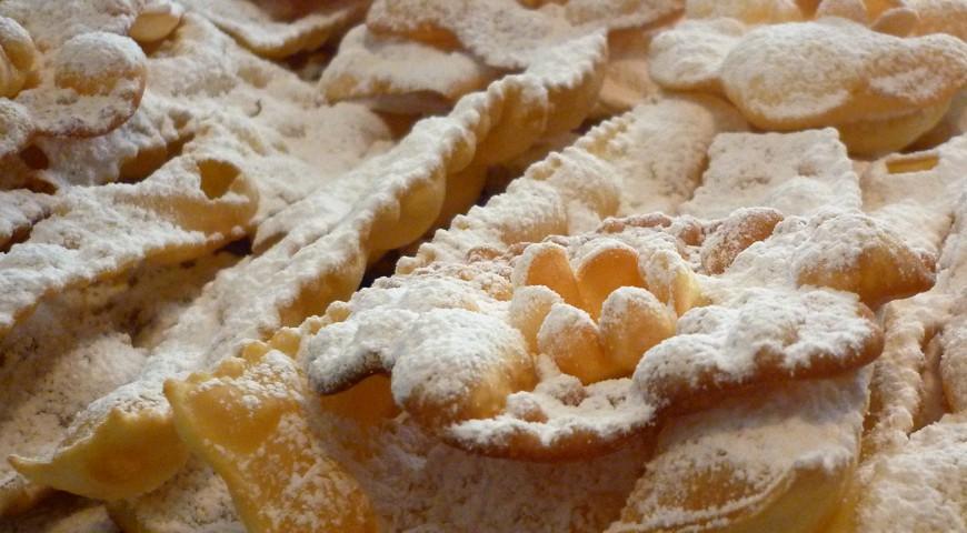 Bugie - dolce di Carnevale