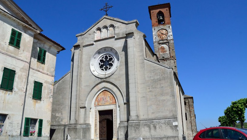 The parish church of Saint Lawrence