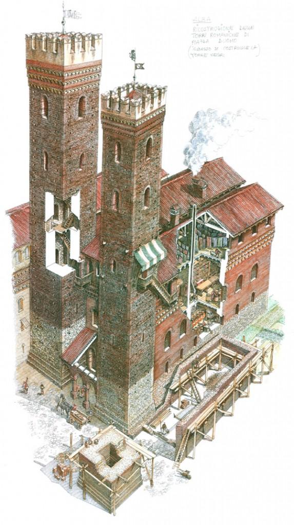 Alba sotterranea viaggio al centro della citt for Piani di casa castello medievale