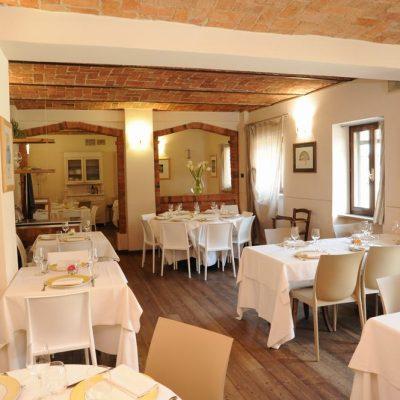 Osteria del Vignaiolo - La sala ristorante