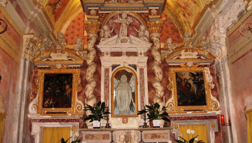 Gottasecca: the sanctuary of the Virgin Mary