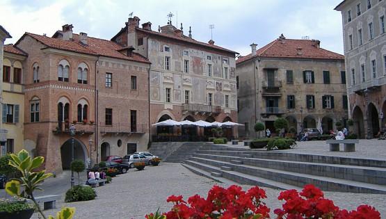 Piazza district in Mondovì