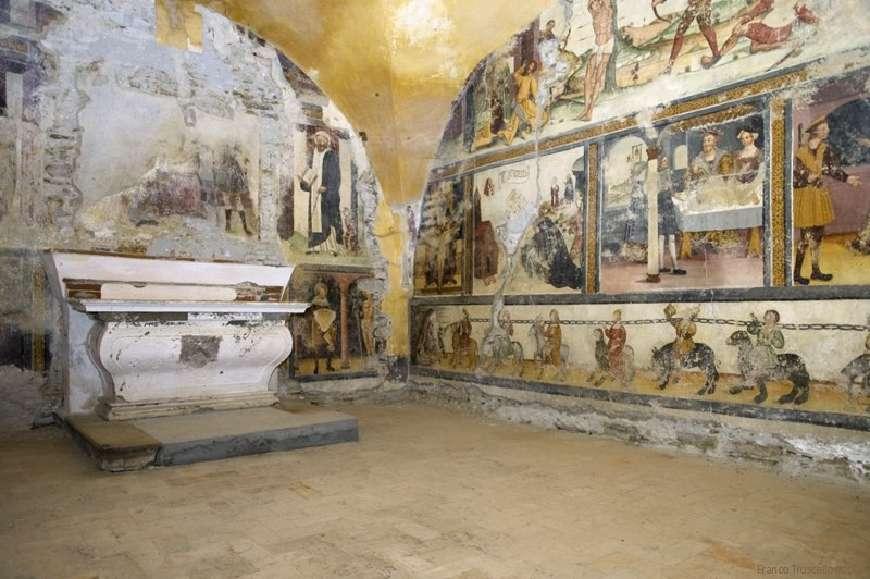 Mombarcaro - La cappella di San Rocco