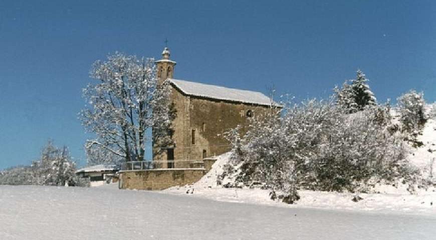 La cappella di San Sebastiano - Paroldo