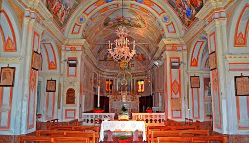 San Giorgio Scarampi: the parish church