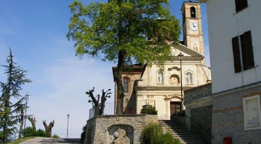La chiesa di San Nicola - Belvedere Langhe