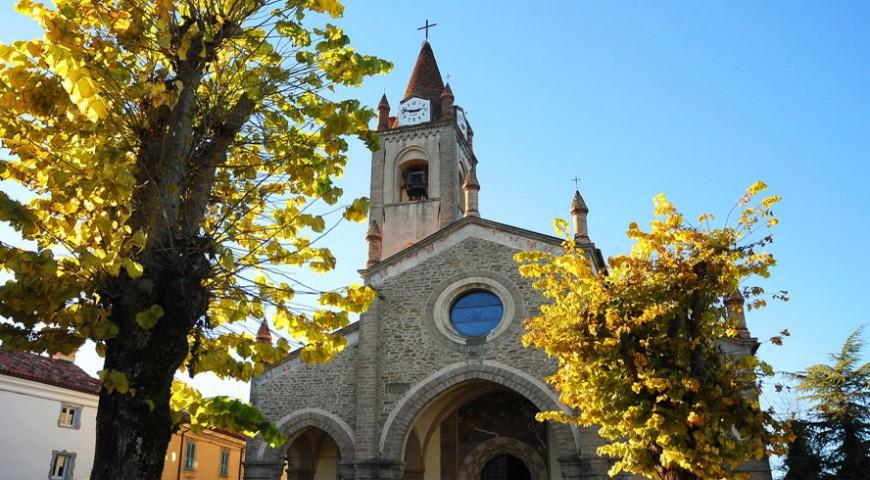 Bossolasco - chiesa parrocchiale di San Giovanni Battista