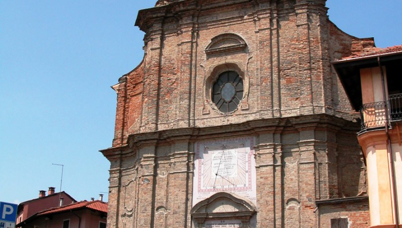 The church of San Bernardino in Canale