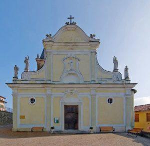 La parrocchiale di Santa Lucia a CIssone