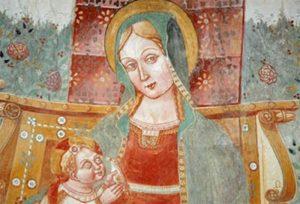 La Madonna in trono con Bambino - Levice
