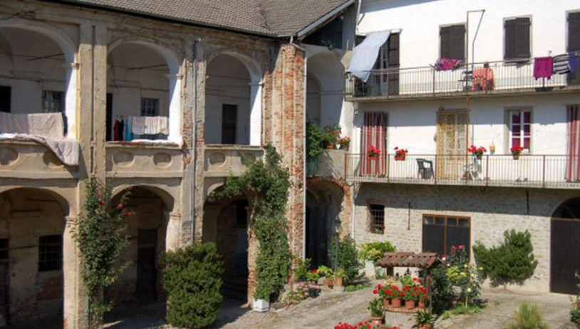 The monastery of Castino