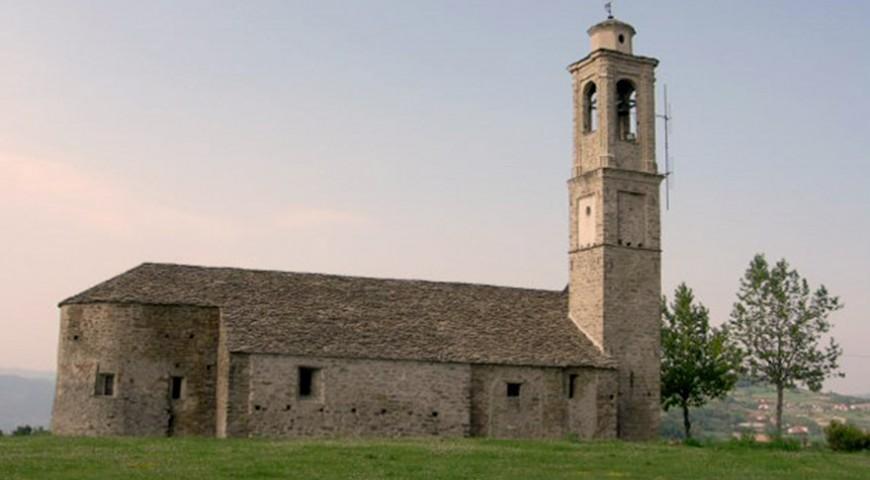 Prunetto la chiesa della Madonna del Carmine