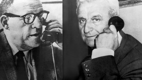 """Da Alba la prima telefonata """"spaziale"""", anno 1962"""