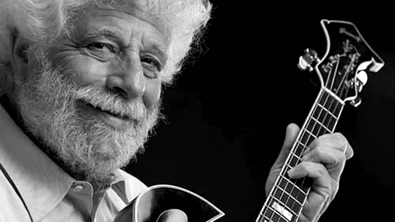 Il bluesman americano Grandpa Banana