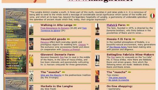 Testata giornalistica on-line per Langhe.net