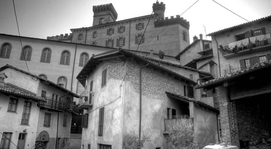 Barolo in bianco e nero - foto di Ludovico Caldara