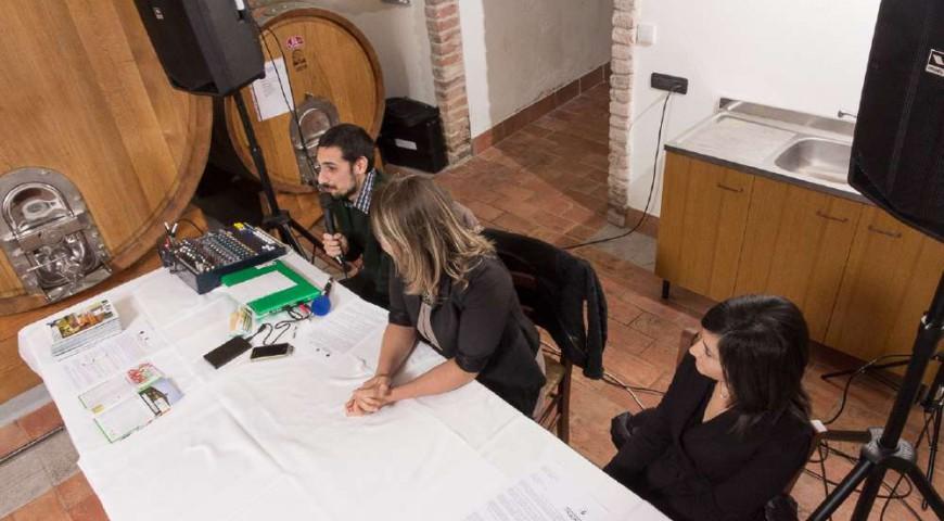 Il team di TastewineNicholas Roncea, Ilenia Colucci e Patrizia Guglielmo