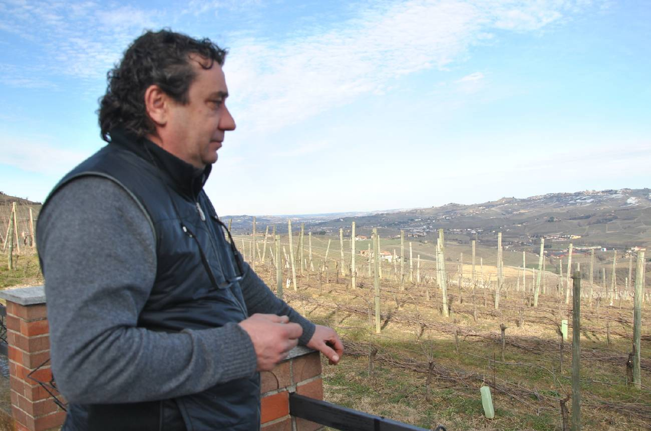 Fabrizio Merlo, owner of Sylla Sebaste in Barolo