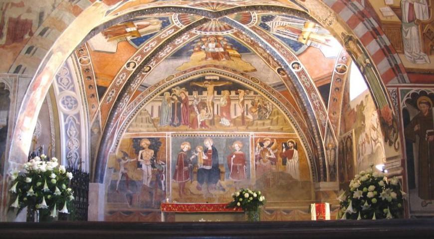 Navata della Cappella di San Fiorenzo
