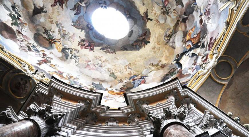 Cupola Chiesa Santa Maria Maddalena Alba