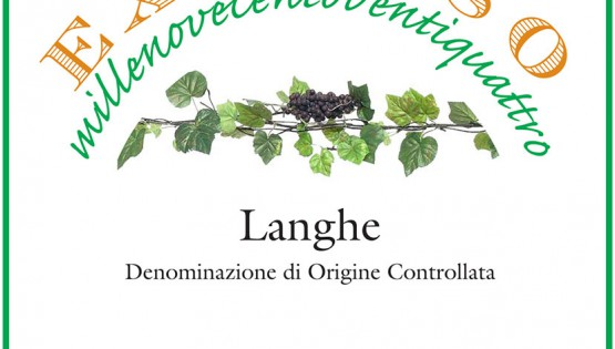 The first vintage of the Langhe Doc Excelso of Ca' Neuva