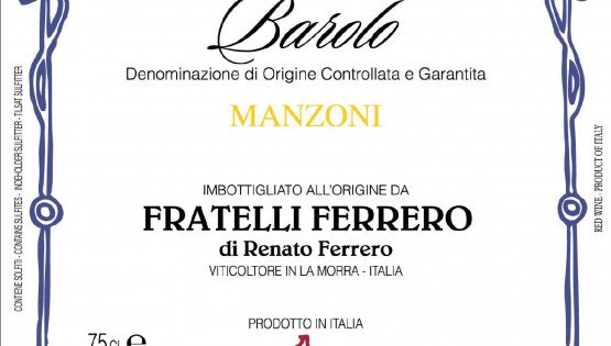 Guided tasting of the Barolo Manzoni Fratelli Ferrero
