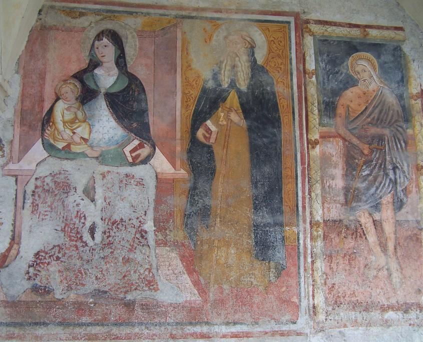 Vergine in trono con bambino, S. Maria in Bredolo