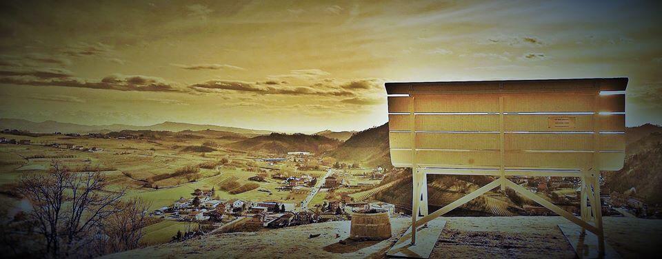 La vista dal Torione di Vezza d'Alba (foto di Bruna Olivero)