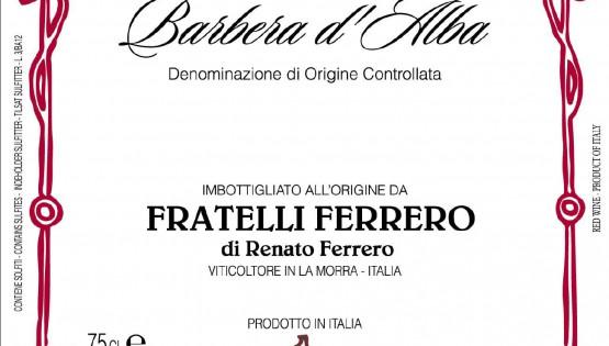 Continua la scoperta della cantina Ferrero: degustazione della Barbera d'Alba