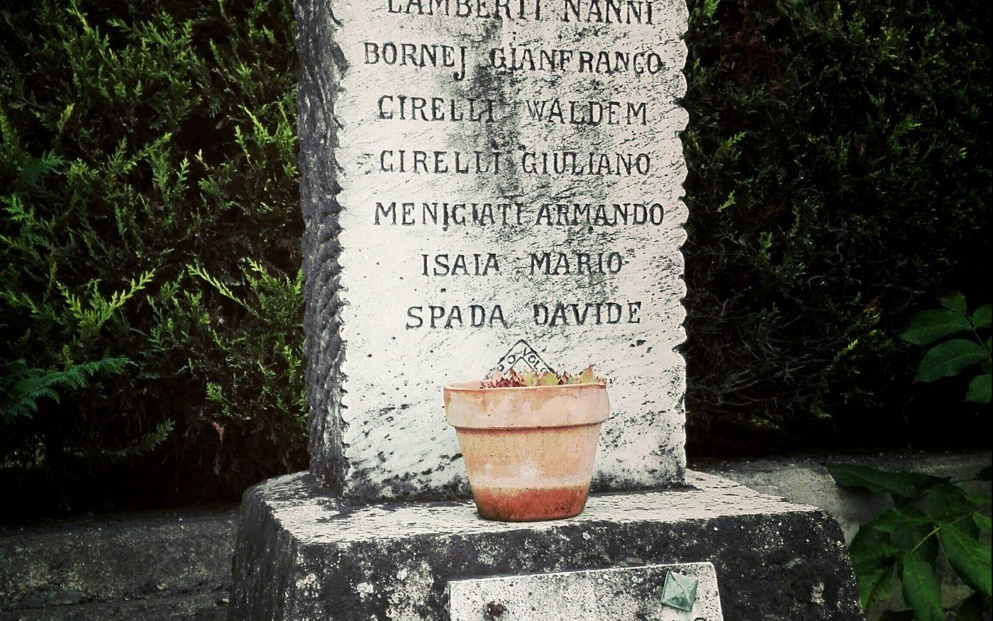 Cippo caduti Bram Monchiero